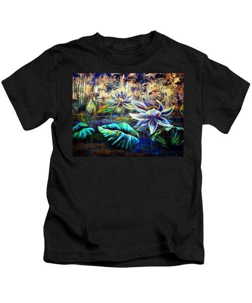 White Lotus Kids T-Shirt