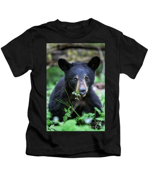 Wildflower Bear Kids T-Shirt