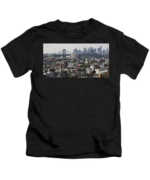 Williamsburg Bridge Kids T-Shirt