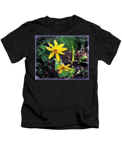 Woods Flower Kids T-Shirt