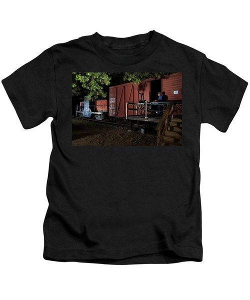 Working On The Railroad 2 Kids T-Shirt