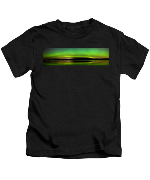 Aurora Over The Beauly Firth Kids T-Shirt