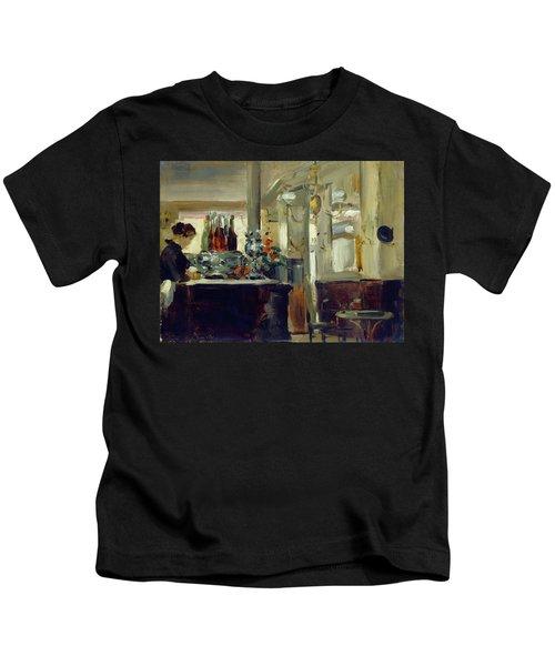 Bon Bock Cafe Kids T-Shirt