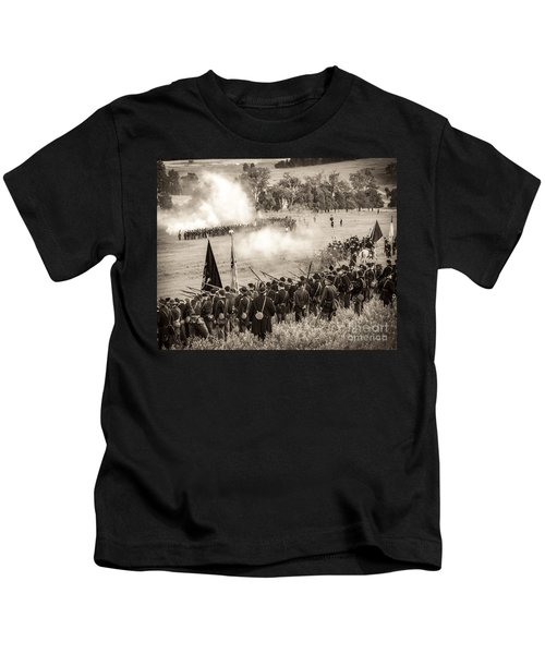 Gettysburg Union Artillery And Infantry 7496s Kids T-Shirt