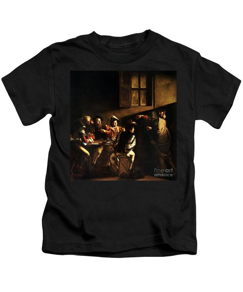The Calling Of Saint Matthew Kids T-Shirt