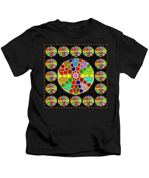 Acrylic Painted Round Colorful Jewel Patterns By Navinjoshi At Fineartamerica.com   Also Available O Kids T-Shirt