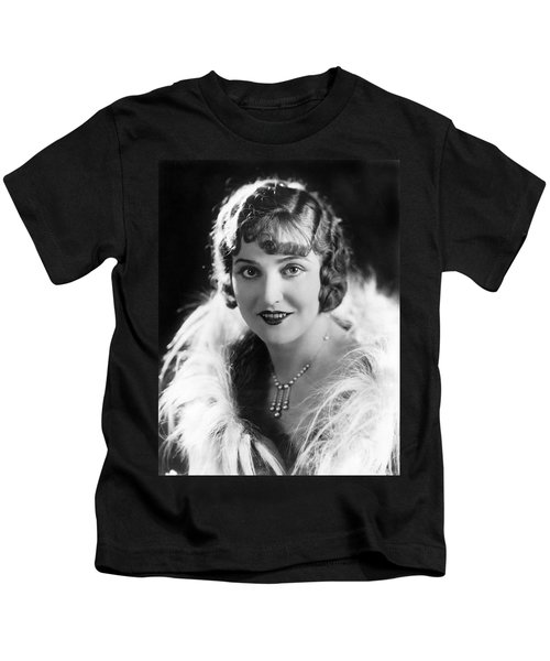 Actress Agnes Ayres Kids T-Shirt by Underwood Archives