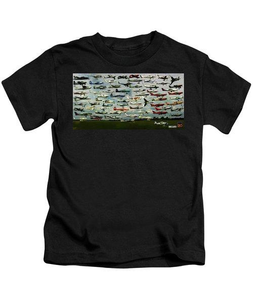 Airventure Cup Air Race, 2017 - Panorama Kids T-Shirt