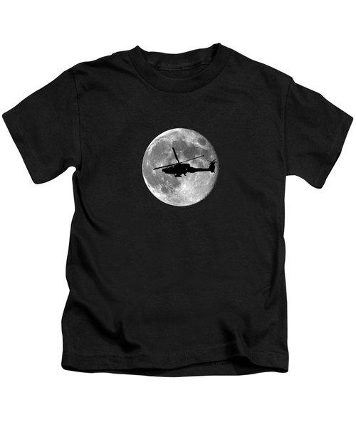 Apache Moon .png Kids T-Shirt