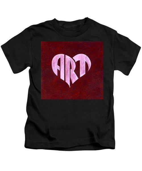 Art Heart Kids T-Shirt