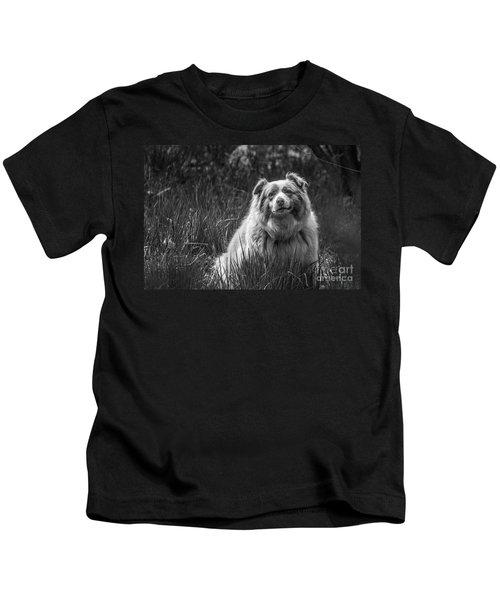 Australian Shepherd Dog Kids T-Shirt