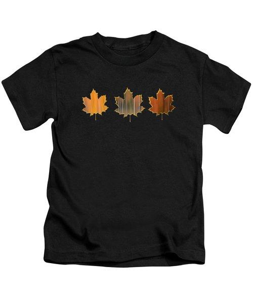 Autumn Three Kids T-Shirt