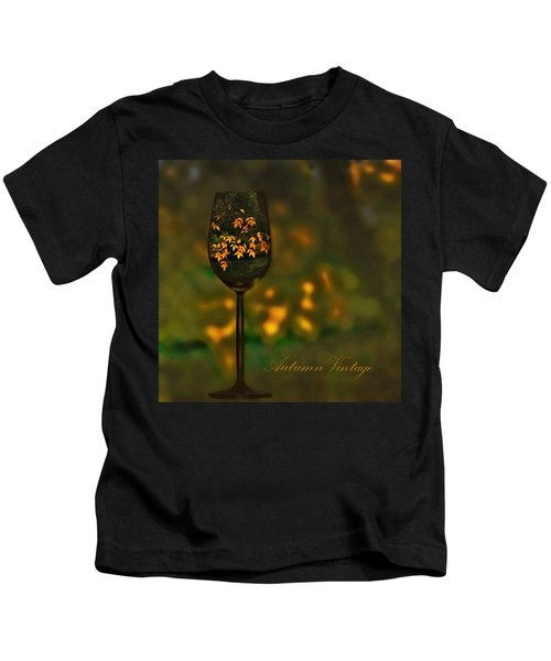 Autumn Vintage Kids T-Shirt