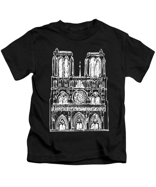 Basilica Notre Dame Kids T-Shirt