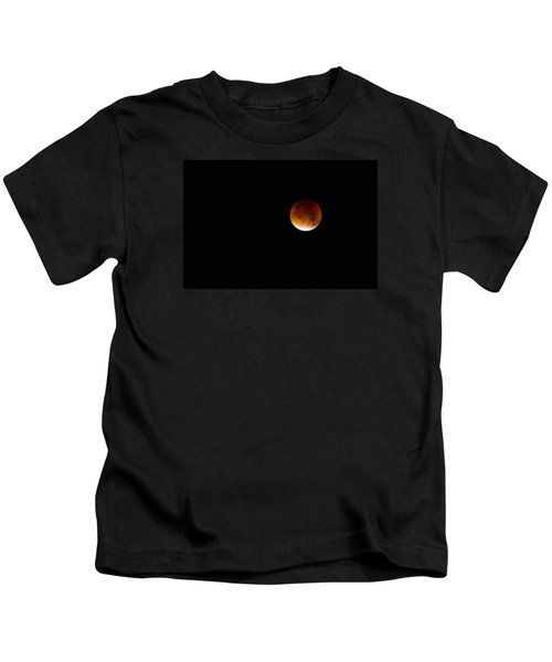 Blood Moon Super Moon 2015 Kids T-Shirt