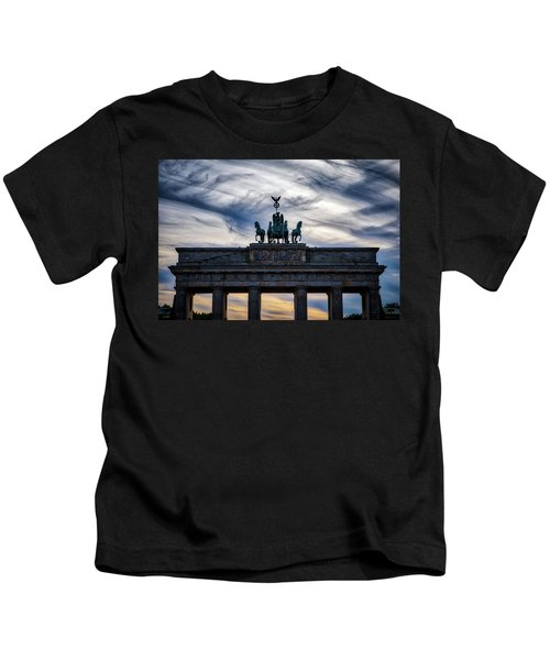 Brandenberg Gate Kids T-Shirt
