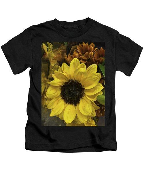Bright Bouquet Kids T-Shirt