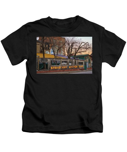 Broadway Oyster Bar Kids T-Shirt