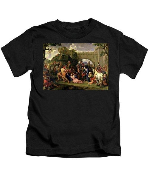 Christ Carrying The Cross Kids T-Shirt