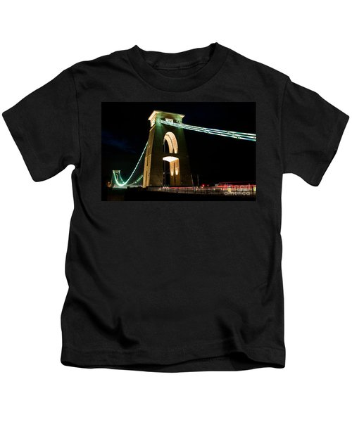Clifton Suspension Bridge, Bristol. Kids T-Shirt