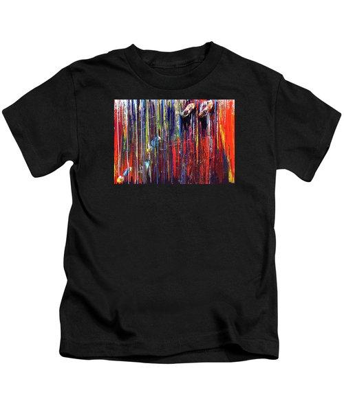 Climbing The Wall Kids T-Shirt