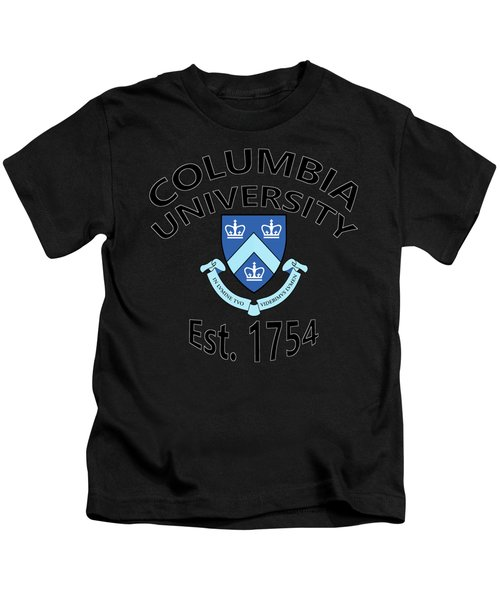 Columbia University Est. 1754 Kids T-Shirt