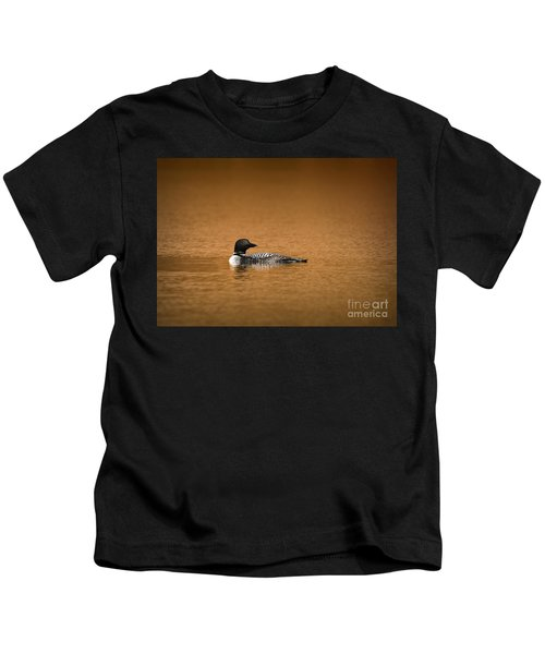 Common Loon Kids T-Shirt