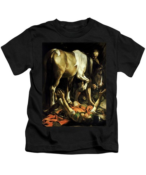 Conversion On The Way To Damascus Kids T-Shirt