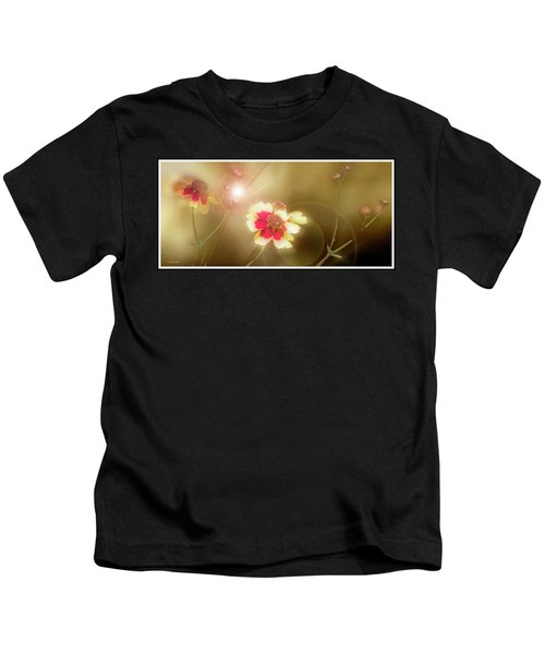 Coreopsis Flowers And Buds Kids T-Shirt