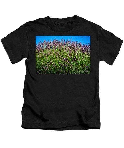 Country Lavender Iv Kids T-Shirt