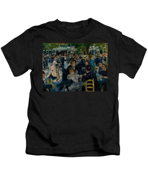 Dance At Le Moulin De La Galette  Kids T-Shirt