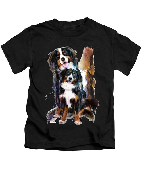 Dog Family Kids T-Shirt