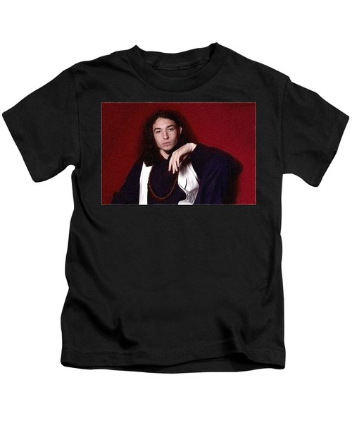 Ezra Miller Poster Kids T-Shirt by Best Actors