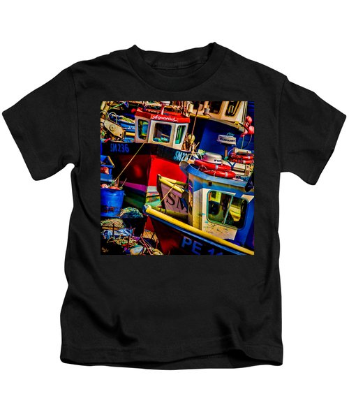 Fishing Fleet Kids T-Shirt