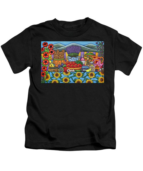 Flavours Of Provence Kids T-Shirt
