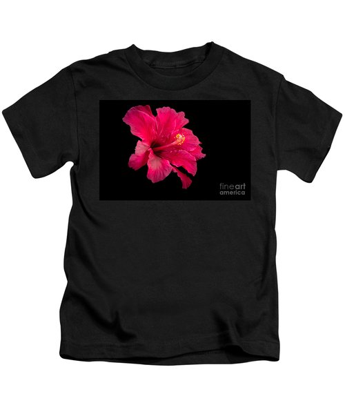 Floating  Hibiscus Kids T-Shirt