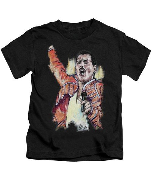 Freddie Mercury 1 Kids T-Shirt