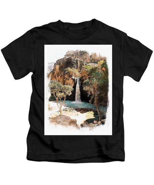 Havasu Falls - Havasupai Indian Reservation Kids T-Shirt