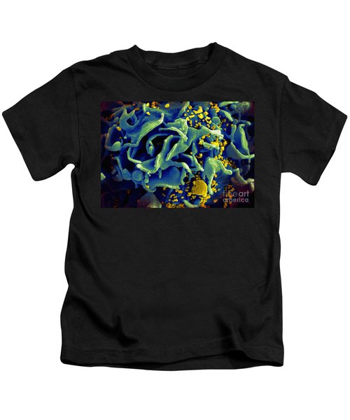 Hiv-infected T Cell, Sem Kids T-Shirt