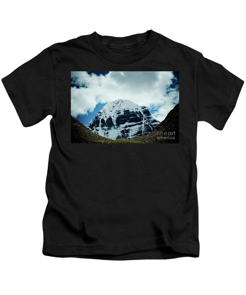 Holy Kailas North Slop Himalayas Tibet Artmif.lv Kids T-Shirt