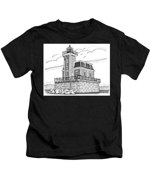 Hudson-athens Lighthouse Kids T-Shirt