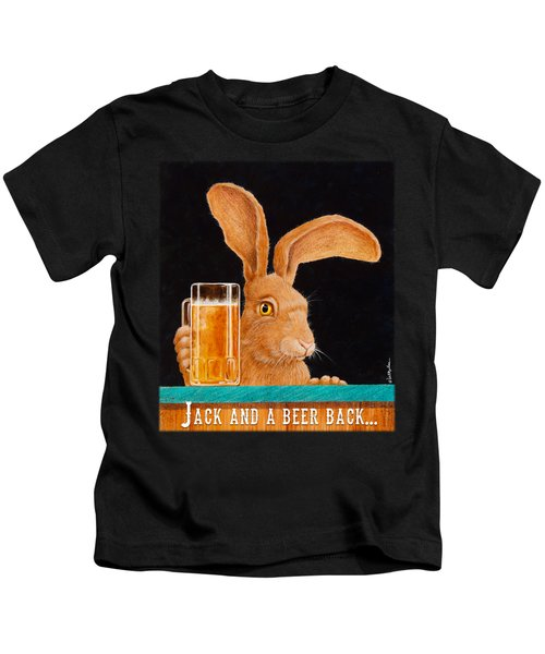 Jack And A Beer Back... Kids T-Shirt
