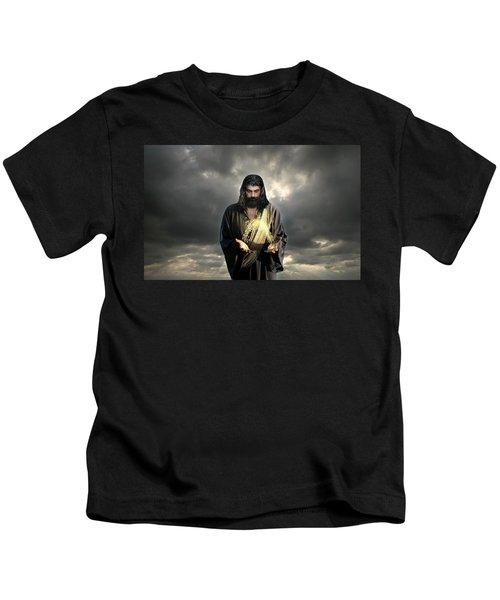 Jesus Christ- Look I Am Coming Soon Kids T-Shirt