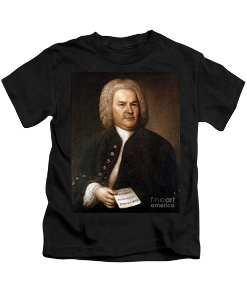 Johann Sebastian Bach, German Baroque Kids T-Shirt