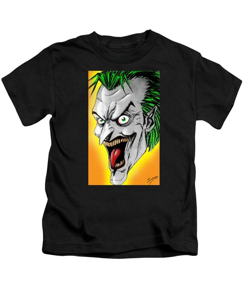 Joker Kids T-Shirt by Salman Ravish