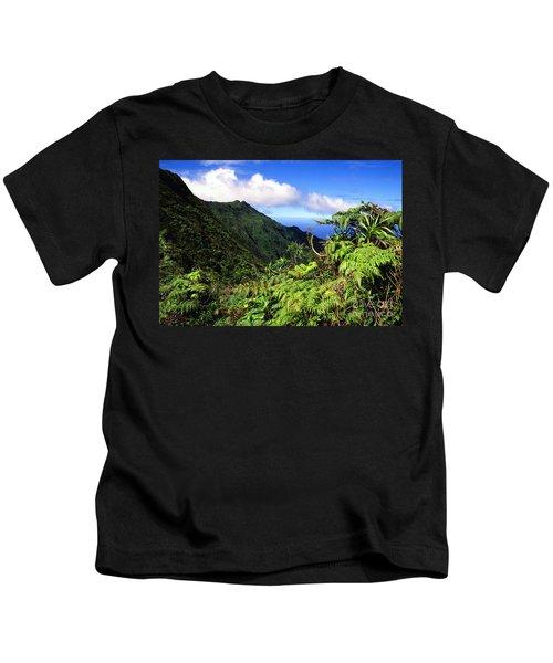 Koolau Summit Trail Kids T-Shirt