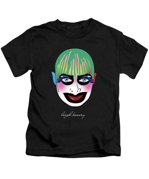 Leigh Bowery 5 Kids T-Shirt by Mark Ashkenazi