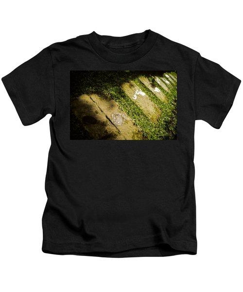 Light Footsteps In The Garden Kids T-Shirt