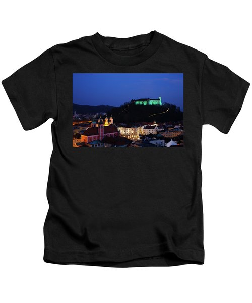 Ljubljana Castle Kids T-Shirt