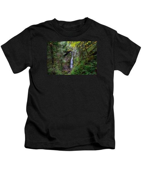 Marymere Falls Kids T-Shirt